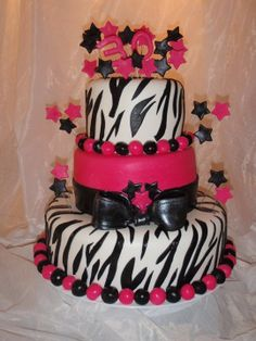 Girl Birthday Cake 1