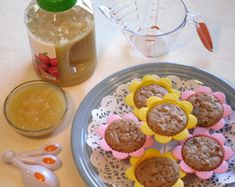 Using fruit and vegetable purees as an alternative to butter/oil when baking.