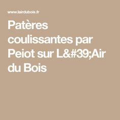 Patères coulissantes par Peiot sur L'Air du Bois Scroll Saw, Stair Design, Charging Stations, Math Equations, Furniture, Stool, Steel, Projects, Bricolage