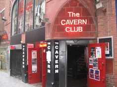 The Cavern Club, Liverpool, England: The Beatles were discovered while playing in this now famous club.
