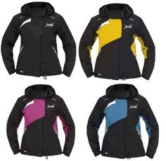 937aa150e22 Ski Doo Womens x Team Jacket Yellow Raspberry Black Aqua 2013 440586  Ecklund Motorsports  154.99!