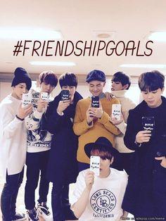 #FRIENDSHIPGOALS #BTS