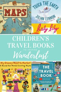 Inspire your children's wanderlust and fuel their love for travel with these books! | kid's books | travel books | reading