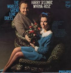 Harry Secombe / Myrna Rose - 'The world's greatest love duets' - much as I like Secombe, perhaps one of the ghastliest albums ever recorded. Picked up by a friend in a junk shop, and perfect post-pub entertainment . Great Love, The World's Greatest, Album Covers, Albums, Entertainment, Rose, Shop, Movie Posters, Pink