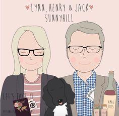 Lynn and Henry xxx Xmas 2015, Let It Be, Comics, Memes, Face, Illustration, Design, Illustrations, Comic Book