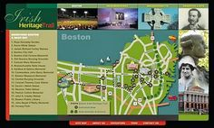 Guided tours of Boston's Irish Heritage Trail, March15-17, 2014