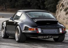 A Black And Tan Custom Porsche 911 That's All Kinds Of Cool. Impossible to dislike.