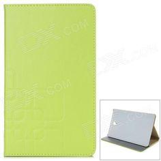 Stylish Flip Open PU Case w/ Stand / Auto-Sleep for 8.4'' Samsung T700 - Light Green Price: $9.41