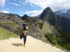 Gio at Macchu Pichu