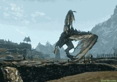 And this dragon, who's caught a dancing bug. | 24 Video Game Characters Who Are Having A Way Worse Day Than You