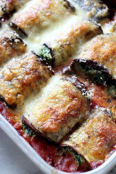 Culy Homemade: auberginerolletjes met spinazie