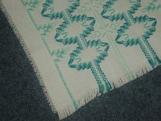 Swedish Weave Table runner by TakesaNeedle on Etsy