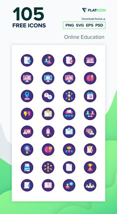 105 free vector icons of Online Education designed by Flat Icons Free Icons Png, Vector Icons, Vector Free, Education Icon, Free Icon Packs, Edit Icon, Icon Font, Brainstorm