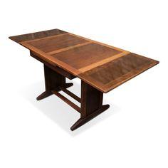 For sale: Vintage Swedish Extendable Solid Oak Dining Table Solid Oak Dining Table, Extendable Dining Table, Table Desk, Desks, Vintage Furniture, Vintage Designs, Tables, Kitchen, Home Decor