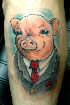1000 images about pigs tattoo ideas on pinterest pig for Pig skin tattoo