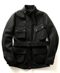 "BEAMS FのBarbour / ""SL International Jacket""ウールです。こちらの商品はBEAMS Online Shopにて通販購入可能です。"