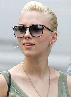 Scarlett's Septum Piercing