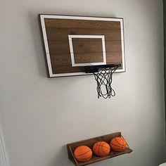 Wood Basketball Hoop With Painted Hoop Lines. Wall Mounted Wood Basketball Backboard and Rim. Basketball Gift - Fitness and Exercises, Outdoor Sport and Winter Sport Basketball Hoop In Bedroom, Boys Basketball Room, Indoor Basketball Hoop, Basketball Backboard, Boy Sports Bedroom, Basketball Themed Rooms, Office Basketball Hoop, Boys Bedroom Paint, Boys Bedroom Furniture