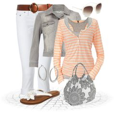 A fashion look from February 2013 featuring maison scotch shirt, grey cropped jacket and True Religion. Browse and shop related looks. Cute Fashion, Fashion Outfits, Womens Fashion, Fashion Ideas, Summer Outfits, Cute Outfits, Peach Outfits, Outfits 2014, Casual Outfits
