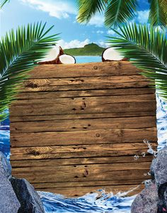 ideas party poster design beach for 2019 Iphone Background Images, Poster Background Design, Background Templates, Tropical Background, Beach Background, Fond Design, Wattpad Background, Photo Frame Design, Beach Wood
