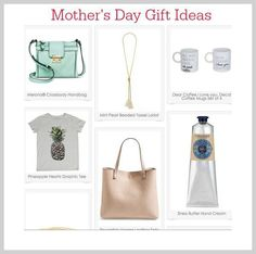 Mother's Day is less than 2 weeks away! Here are some gift ideas that are cute and affordable!!