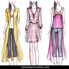 445 best fashion design tutorials from sewingnpatterns com images in rh pinterest com