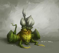 Monster No. 021 by Onehundred-Monsters.deviantart.com on @DeviantArt