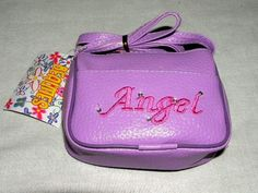 PURSE FOR YOUR LITTLE ANGEL SAYS ANGEL PURSES CUTE NEW our store link http://stores.ebay.com/store4angels?refid=store come see our store front always have great sales