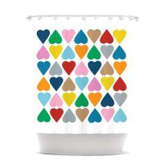Kess InHouse Project M Diamond Hearts Shower Curtain, 69 by 70-Inch by Kess InHouse, http://www.amazon.com/dp/B00E1YMN2E/ref=cm_sw_r_pi_dp_Wbrgsb1SKV2AW