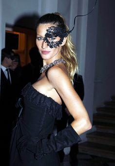 Gisele at Vogue Paris' Masquerade Ball