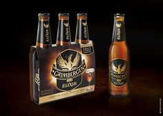 Grimbergen Elixir on Packaging of the World - Creative Package Design Gallery