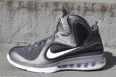 "LeBron 9 ""Cool Grey"" Looks  CoolBron Jordan Basketball 8930d5783c"