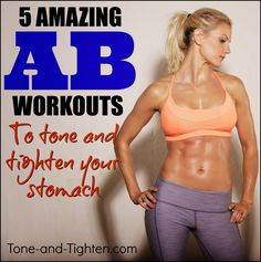 5 Killer Ab Workouts - I need these!