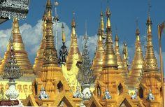 Mianmar (Burma)  Az arany templomok hazája.