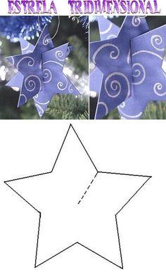 35 new ideas origami christmas ornaments holidays Christmas Star, Christmas Paper, Christmas Crafts For Kids, Christmas Activities, Christmas Projects, Winter Christmas, Holiday Crafts, Christmas Cards, Christmas Ornaments