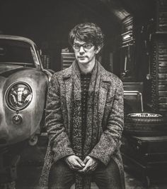 Ben Whishaw as Q, from Behind the Scenes of Spectre by Rankin