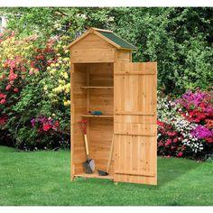 Trend Outsunny Holz Ger tehaus Ger teschuppen Gartenschrank