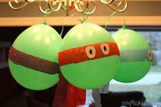 Ninjaturtle balonnen!