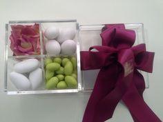 Idea Regalo: scatola portaconfetti #confetti #caramelle #cioccolatini #cresima #regalo #gift