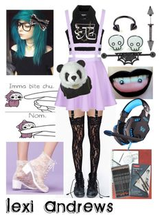 """""""Lexi Andrews,Anon"""" by lovestruckdreamer ❤ liked on Polyvore featuring art"""