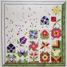 Quilted Garden Quilt Finishing Kit