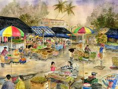 Pasar Tradisional Pacung Bali Indonesia Art Print by Melly Terpening. All prints are professionally printed, packaged, and shipped within 3 - 4 business days. Choose from multiple sizes and hundreds of frame and mat options. Thing 1, Print Pictures, All Print, Wonderful Places, Fine Art America, Design Art, Scene, Wall Art, Prints