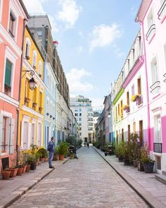 Take a stroll through this truly sensational laneway: Rue Cremueux, Paris, France - one of the most beautiful streets in the world. Paris Photography, Travel Photography, Places To Travel, Places To Go, Hotel Des Invalides, Paris Travel Guide, Travel Guides, Beautiful Streets, Beautiful Paris