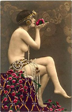 Vintage Gypsy dancer