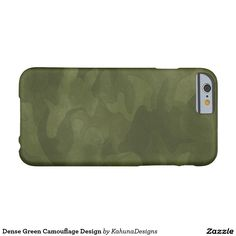 Dense Green Camouflage Design Barely There iPhone 6 Case