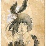 i love watercolor portraits