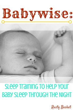A review and practical advice for getting the Babywise system to work for you and your baby. Pin to save for later.