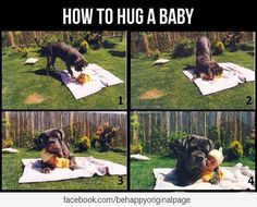 right way to hug a baby