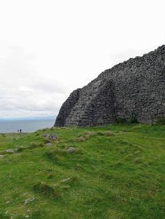Dun Anghosa, ancient fort on the Aran Islands, Ireland