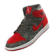 "Air Jordan 1 Retro High ""Camo Red"""